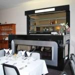 Counter for Restaurant. Bar for Restaurant. Black gloss