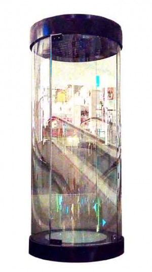 Special Large glass display unit