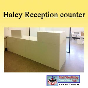 reception counter for college or office