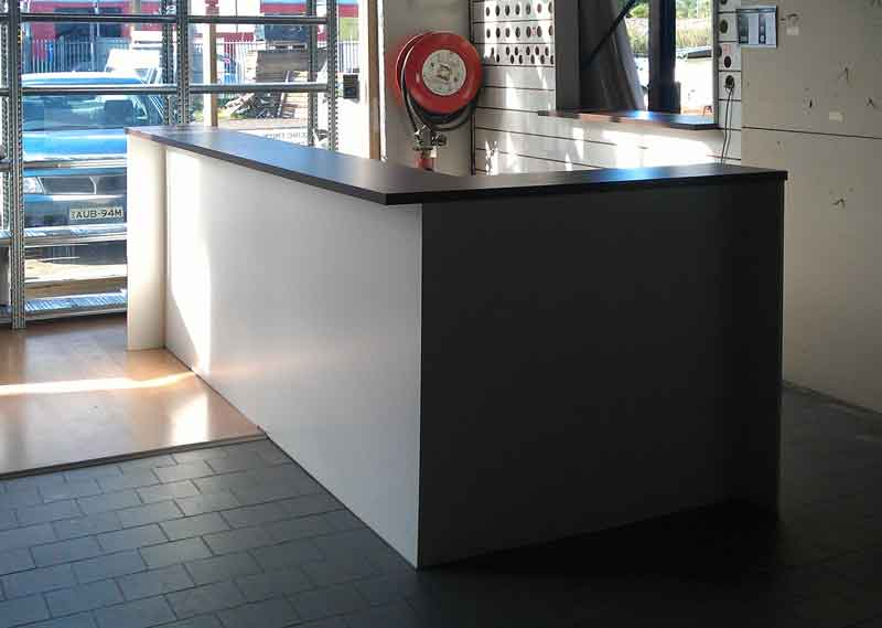 Counter For Sale : Trade counter for sale, Hard wearing counter - Reception ...