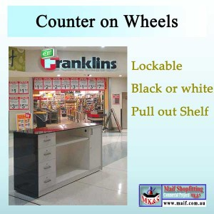 Counter on wheels