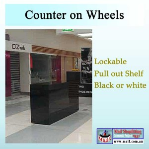 Shop center counter
