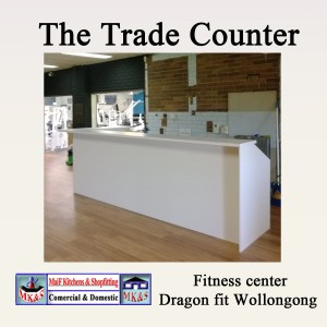 Fitness Center counter