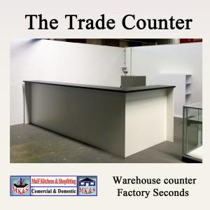 Warehouse counter