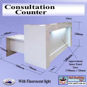 Consultation counter