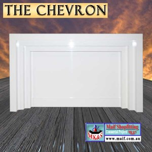 The Chevron Reception Counter