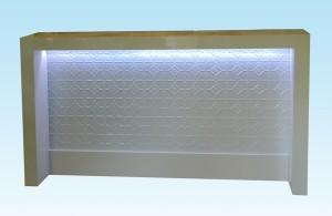 Pressed Tin Panel front desk