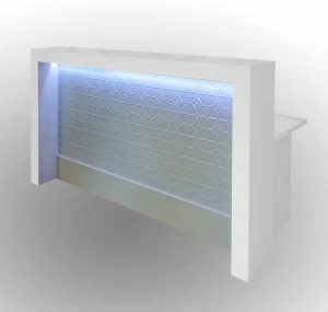 Counter with led light
