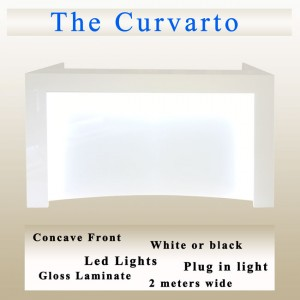 Curvarto reception desk