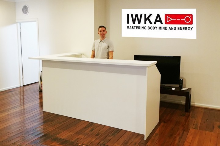 Martial Arts Reception Desk