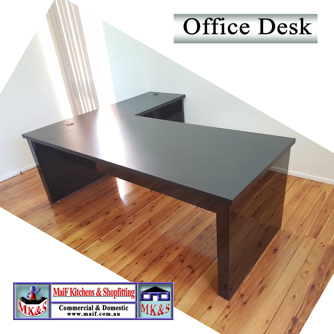home office furniture office desk with return