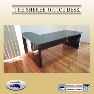 Office desk black or white