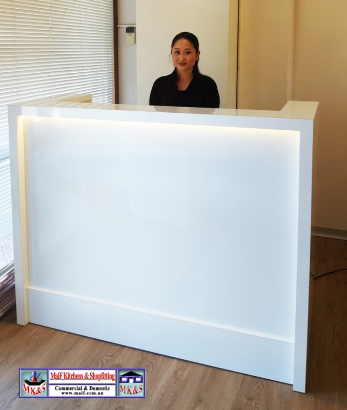 New Reception Desk Seven Hills