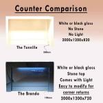 Reception counter comparison for 2 counters