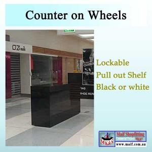 Shop center counter