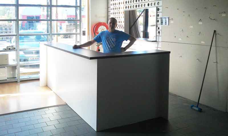 Trade Counter Workshop Counter Bulky Goods Counter
