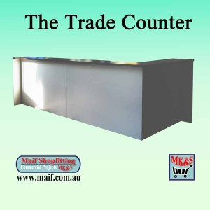 Sales counter for warehouse