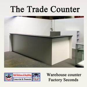 Warehouse counter