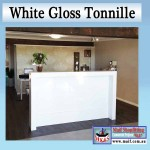 Counter white gloss