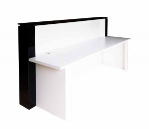 New black and white reception counter for sale