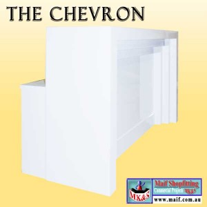 Chevron reception counter