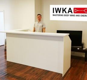 Martial Arts Reception Desk
