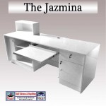 Low reception desk