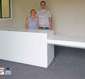 Orange NSW reception desk
