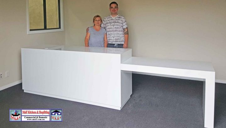Orange NSW reception desk
