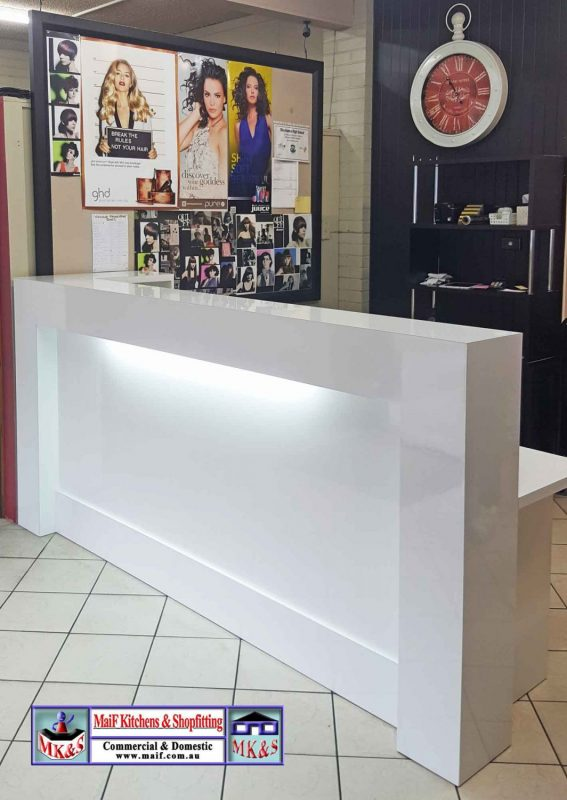 Consultation Counter Large Reception Counter For Modern
