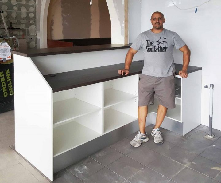 Shop Reception Desk