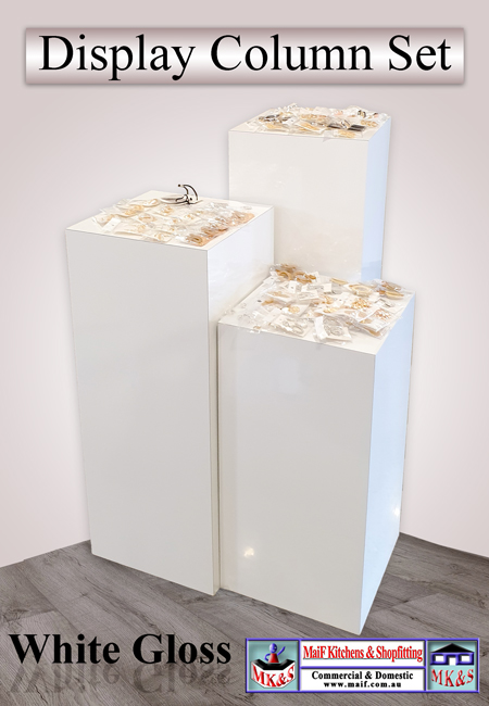 Column Display Set of 3