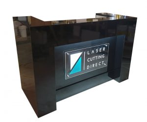 Reception Counter Signage